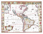 The Western Hemisphere in 1626