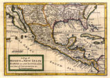 A Map of Mexico or New Spain, Florida Now Called Louisiana and Part of California