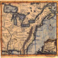 A Map of French Settlements in North America